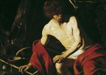 Caravaggio, Johannes der Taeufer von AKG  Images