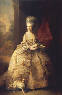 Koenigin Charlotte v. Engl. /Gainsborough von AKG  Images
