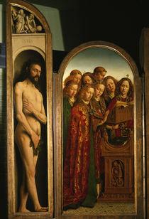 Jan van Eyck, Genter Altar, Adam / 1432 by AKG  Images