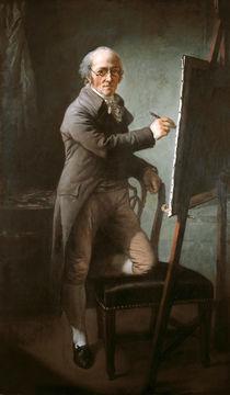 Anton Graff, Selbstbildnis 1809 von AKG  Images