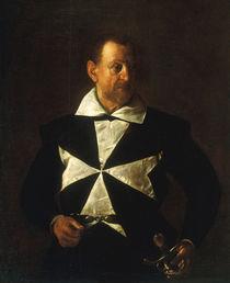 Caravaggio, Bildnis Malteserritter von AKG  Images