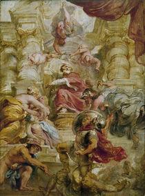 Jakob I. als Friedenskoenig/ P.P. Rubens von AKG  Images