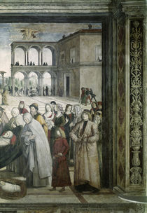 Pinturicchio, Begraebnis Hl.Bernhardin by AKG  Images