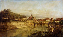Dresden,Zwingergraben / Gem.von Bellotto von AKG  Images