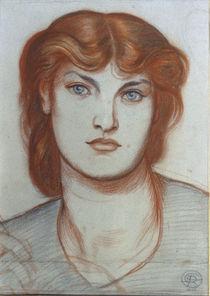 D.G.Rossetti, Studie zu Regina Cordium von AKG  Images