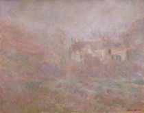 C.Monet,Haeuser in Falaise im Nebel by AKG  Images