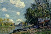 Alfred Sisley, Ufer des Loing bei Moret von AKG  Images