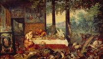 Rubens u. Brueghel,Jan d.Ae., Geschmack by AKG  Images
