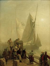 Andreas Achenbach, Einlaufende Schiffe von AKG  Images