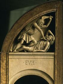 Kain erschlaegt Abel / Genter Altar, 1432 by AKG  Images