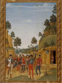 Perugino, Wunder des Hl.Bernhardin by AKG  Images