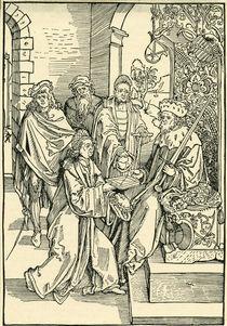 Celtis u. Friedr. d.Weise v. Sachsen by AKG  Images