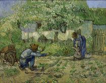 V.van Gogh, Erste Schritte by AKG  Images