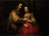 Rembrandt, Die Judenbraut von AKG  Images