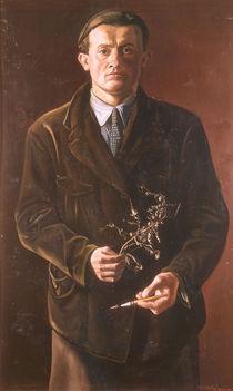 Oskar Zwintscher, Selbstbildnis 1897 von AKG  Images