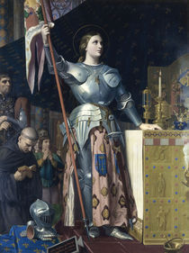 Jeanne d'Arc / Gem.v.Ingres von AKG  Images