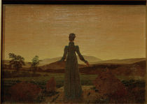 C.D.Friedrich, Frau in der Morgensonne by AKG  Images