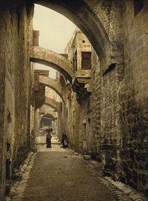Jerusalem, Via Dolorosa / Photochrom von AKG  Images
