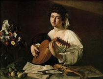 Caravaggio, Der Lautenspieler by AKG  Images
