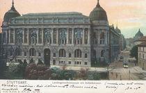 Stuttgart, Gewerbemuseum / Postkarte von AKG  Images