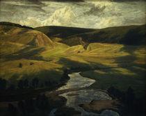 W.Leistikow, Thueringer Wald/ 1902 von AKG  Images