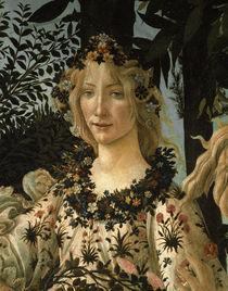 Botticelli, Primavera, Det.: Flora by AKG  Images
