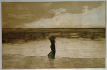 Max Klinger, Verlassen / 1884 von AKG  Images