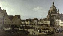 Dresden, Neumarkt / Bellotto by AKG  Images