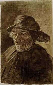 V.van Gogh, Fischer mit Suedwester von AKG  Images