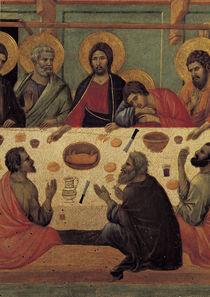 Duccio, Abendmahl, Ausschnitt by AKG  Images