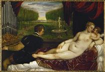 Tizian, Venus mit dem Orgelspieler von AKG  Images