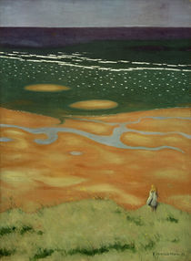 F.Vallotton, Flut bei Houlgate by AKG  Images