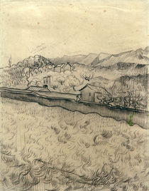 V.V.Gogh, Ummauertes Feld von AKG  Images