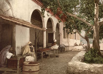 Kaffeehaus in Tunis / Photochrom von AKG  Images
