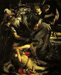 Caravaggio, Bekehrung des Paulus /1.Fass von AKG  Images