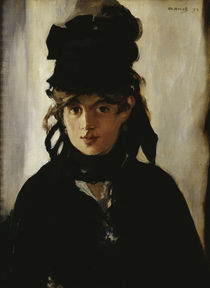 Berthe Morisot / Gem.v.E.Manet by AKG  Images