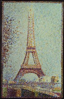 Seurat,G./ Der Eiffelturm/ 1889 by AKG  Images