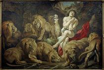 P.P.Rubens, Daniel in der Loewengrube by AKG  Images