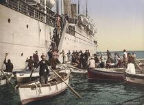 Algier, Ankunft im Hafen von AKG  Images