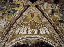 Giotto, Verherrlichung des Franziskus von AKG  Images