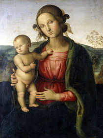 Perugino, Maria mit Kind by AKG  Images