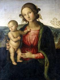 Perugino, Maria mit Kind von AKG  Images