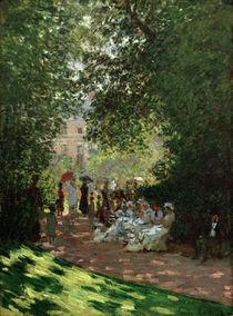 Claude Monet, Der Park Monceau von AKG  Images