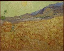 V.van Gogh, Weizenfeld mit Schnitter by AKG  Images