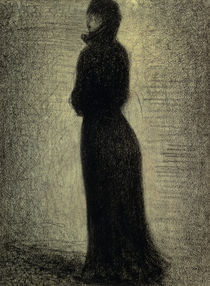 G.Seurat, Dame in Schwarz by AKG  Images