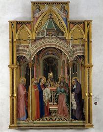 A.Lorenzetti, Darstellung im Tempel von AKG  Images