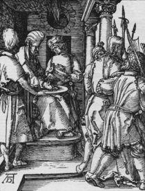 Duerer, Handwaschung Pilati / Kl.Passion von AKG  Images