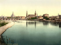 Dresden / Altstadt / Photochrom by AKG  Images