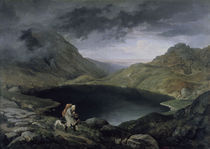 L.Richter, See im Riesengebirge /1839 by AKG  Images