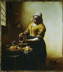 Vermeer, Dienstmagd mit Milchkrug von AKG  Images
